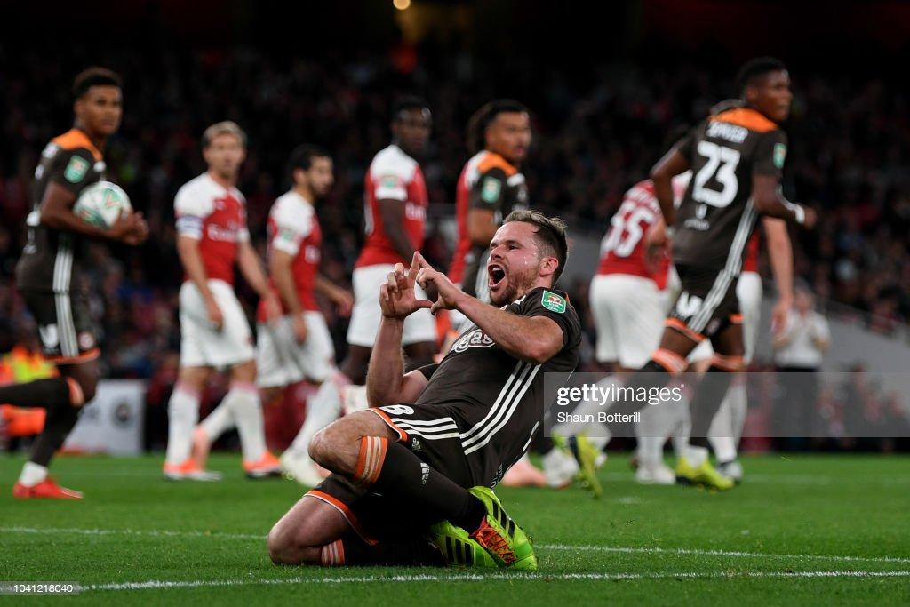 Arsenal v Brentford - Carabao Cup Third Round : News Photo