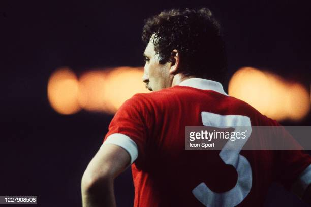 Alan KENNEDY of Liverpool during the European Cup Final match between Liverpool FC and Real Madrid CF at Parc des Princes Paris France on 27th May...