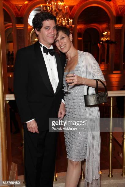 Alan Kifferstein and Joan Finkelstein attend BALLET HISPANICO'S 40th Anniversary Spring Gala at The Plaza on April 19 2010 in New York City