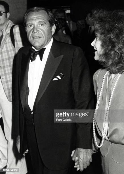 Alan King and Jeanette King during Opening of 'Camelot' at New York State Theater in New York City New York United States