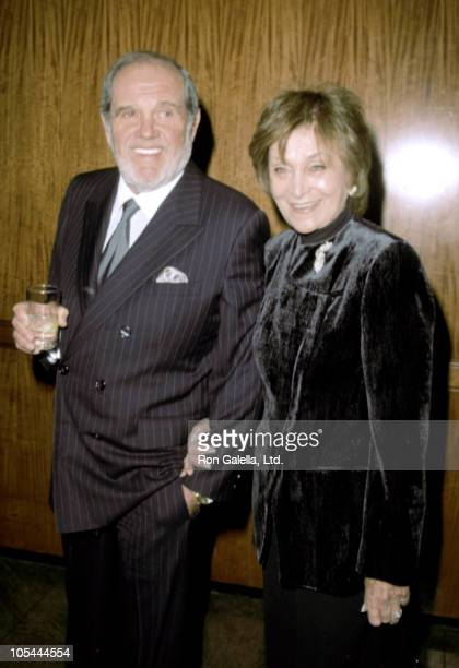 Alan King and wife during Gala benefit Honoring Joseph Papp Childrens Humanitarian Fund at Hilton Hotel New York in New York City New York United...