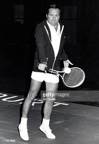 Alan King during 'Raising a Raquet' February 13 1973 at New York Ski and Tennis Club in New York City New York United States