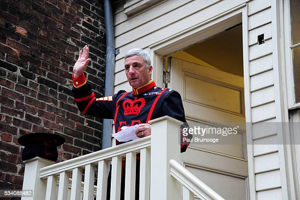 Alan Kingshott attends Historic Royal Palaces Patrons Secret Garden Party at Merchant's House Museum on May 24 2016 in New York City