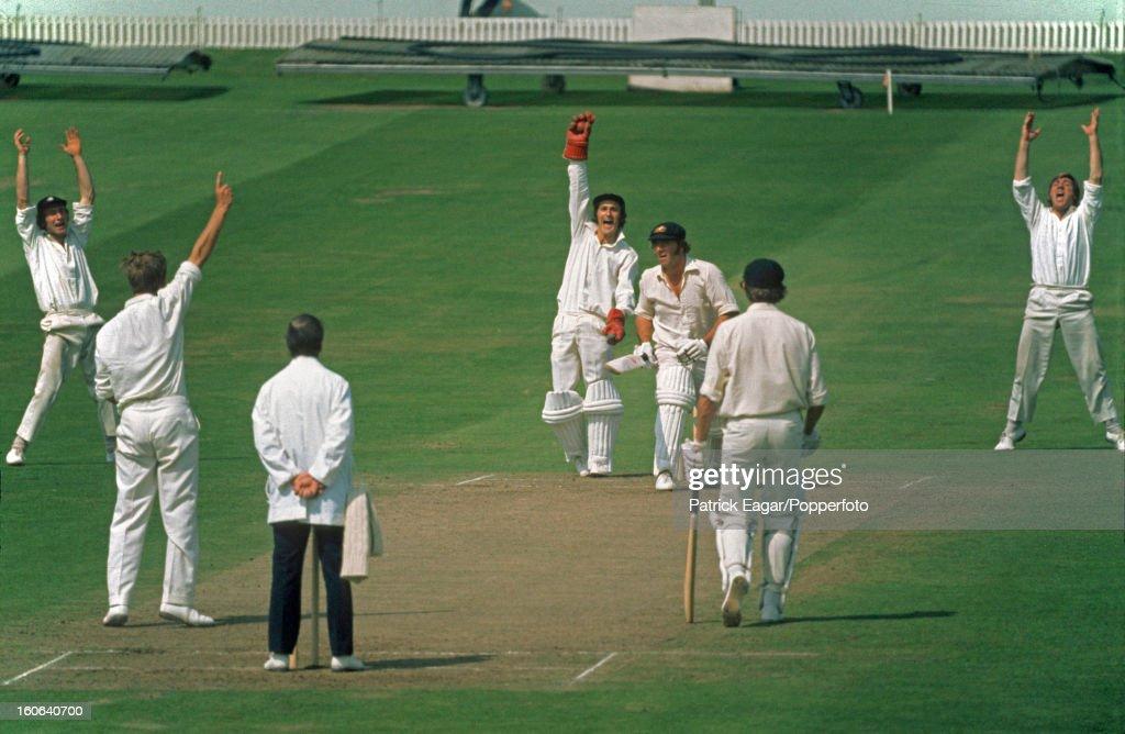 4th Test England v Australia Headingley July 1972 : News Photo