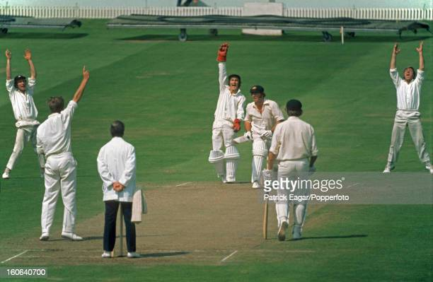 Alan Knott catches Rodney Marsh off Derek Underwood, 4th Test England v Australia Headingley July 1972