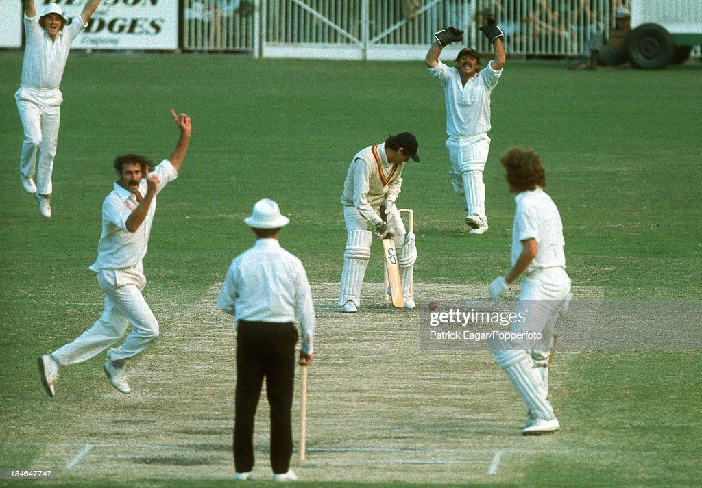 Australia v England, Centenary Test, Melbourne, Mar 1976-77 : News Photo