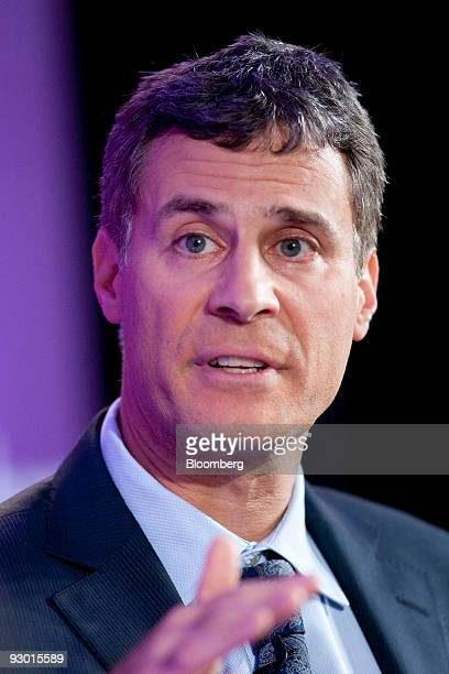 Alan Krueger chief economist and assistant secretary of economic policy with the US Department of the Treasury speaks during the Bloomberg Washington...