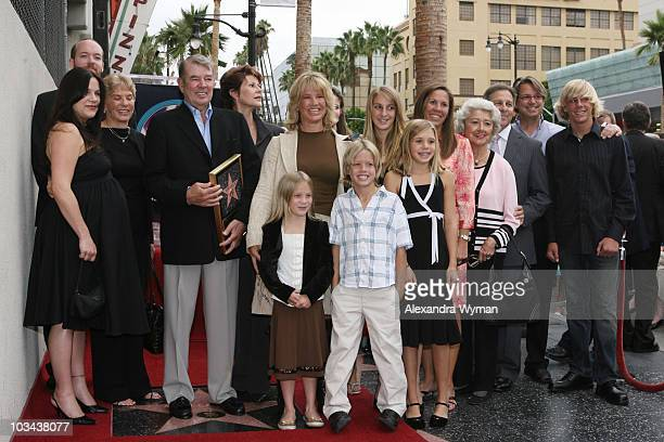 Alan Ladd Jr and Family at the Hollywood Walk of Fame to Honor him with the 2,348th star on September 28, 2007 in Hollywood, California.