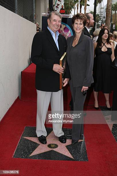 Alan Ladd Jr and his Wife at the Hollywood Walk of Fame to Honor Alan Ladd Jr with the 2,348th star on September 28, 2007 in Hollywood, California.