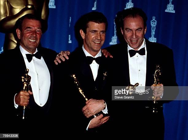 Alan Ladd JR Mel Gibson and Bruce Davey