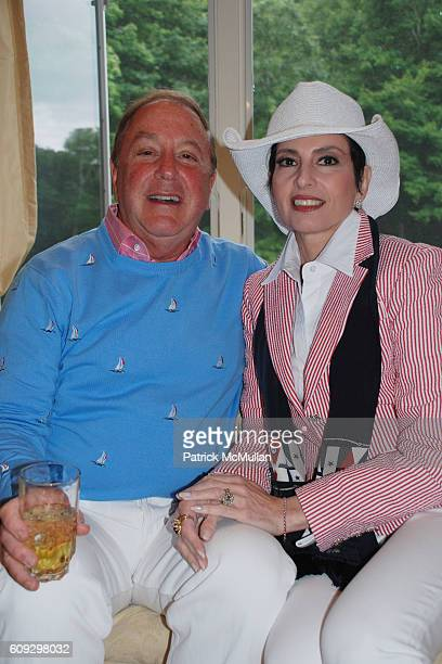 Alan Lazare and Arlene Lazare attend JILL ZARIN'S 4TH OF JULY CELEBRATION at Sag Harbor on July 4, 2007.