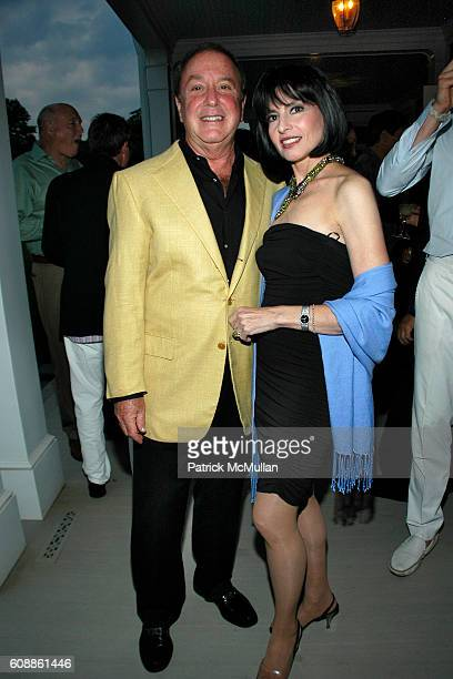"""Alan Lazare and Arlene Lazare attend The Kickoff party of """"Bewitched, Bothered and Bewildered"""" The 2007 ALZHEIMER'S ASSOCIATION RITA HAYWORTH GALA""""..."""