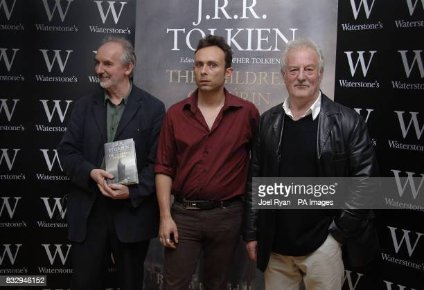 Alan Lee illustrator of the Children of Hurin a book by JRR Tolkien Adam Tolkien the authors grandson who was greatly involved in helping his father...