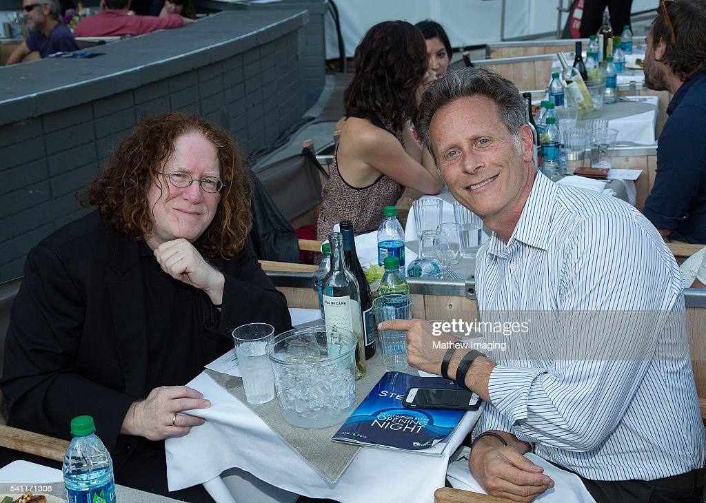 Alan Liebling and actor Steven Weber attend the Hollywood Bowl Opening Night at the Hollywood Bowl on June 18, 2016 in Hollywood, California.