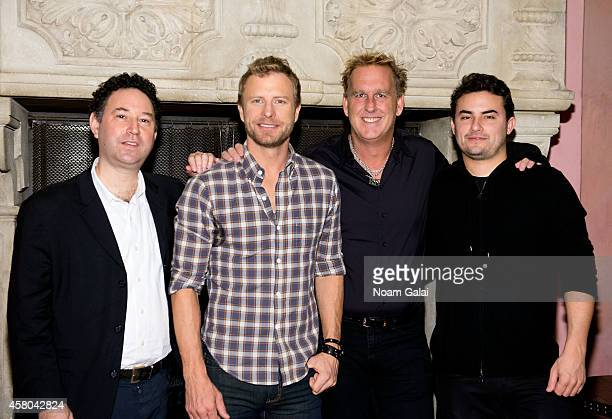 Alan Light Dierks Bentley Brian O'Connell and Jordan Wolowitz attend the Live Nation And Founder's Entertainment Press Conference With Dierks Bentley...