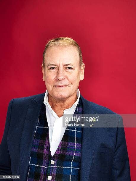 Alan Longmuir of pop band the Bay City Rollers are photographed for the for Daily Mail on September 24 2015 in London England