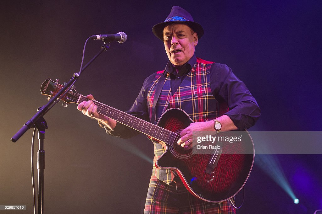 Alan Longmuir of The Bay City Rollers performs at Eventim Apollo on December 14, 2016 in London, England.