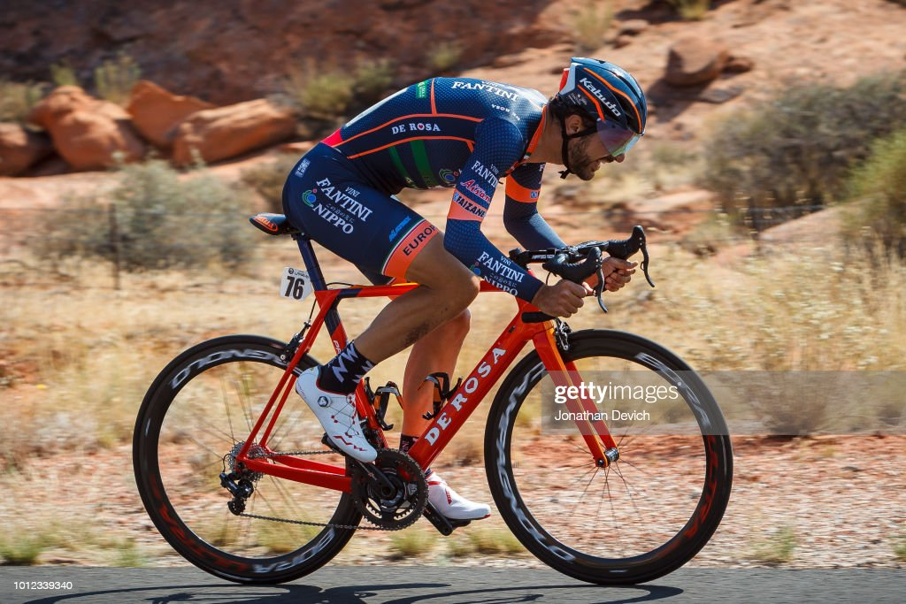 Alan Marangoni of Italy and Nippo - Vini Fantini rides during the prologue on August 6, 2018 in St. George, Utah.