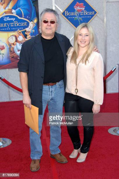 Alan Menken and Anna Rose attend WALT DISNEY STUDIOS HOME ENTERTAINMENT HOSTS A SINGALONG PREMIERE OF BEAUTY AND THE BEAST at El Capitan Theatre on...