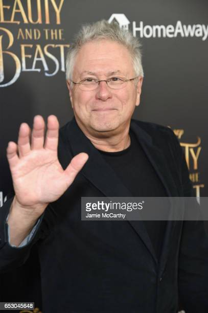 Alan Menken arrives at the New York special screening of Disney's liveaction adaptation Beauty and the Beast at Alice Tully Hall on March 13 2017 in...