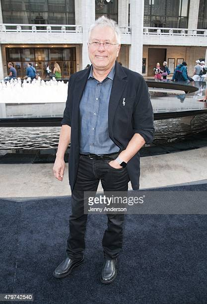 Alan Menken attends Lincoln Center Festival's opening night performance of 'Danny Elfman's Music From the Films of Tim Burton' on July 6 2015 in New...