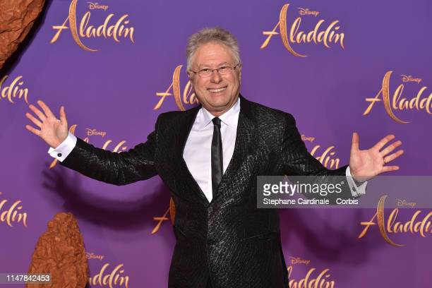 "Alan Menken attends the ""Aladdin"" Paris Gala Screening at Cinema Le Grand Rex on May 08 2019 in Paris France"