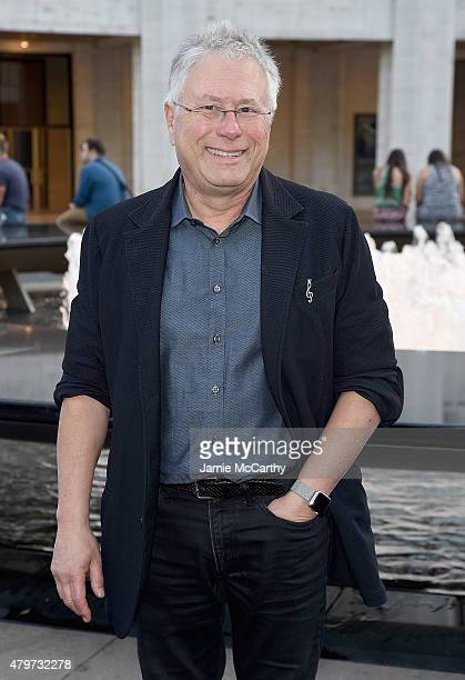 Alan Menken attends the 'Danny Elfman's Music From The Films Of Tim Burton' 2015 Lincoln Center Festival Opening Night at Josie Robertson Plaza at...