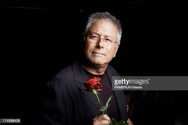 Alan Menken poses before performing music from the Disney broadway musical 'Beauty and The Beast' at the Salle Gaveau on July 02 2013 in Paris France