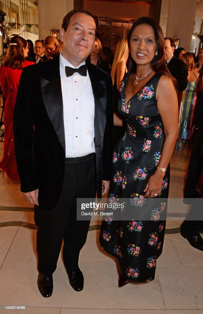 Michael Board Georgina Miller Named 2017 Uk National: Alan Miller And Gina Miller Attend The Harper's Bazaar