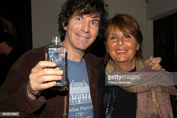 Alan Mindell and Beverly Camhe attend ETRO and PERRIER JOUET Celebrate Patrick McMullan's Book KISS KISS at Chateau Marmont on February 28, 2006 in...