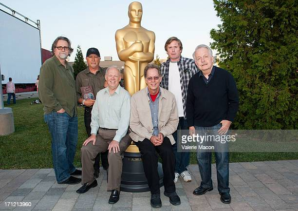 Alan Munro Robert Short Richard L Anderson Larry Wilson Tom Duffield and Thomas Ackerman attends The Academy Of Motion Picture Arts And Sciences'...