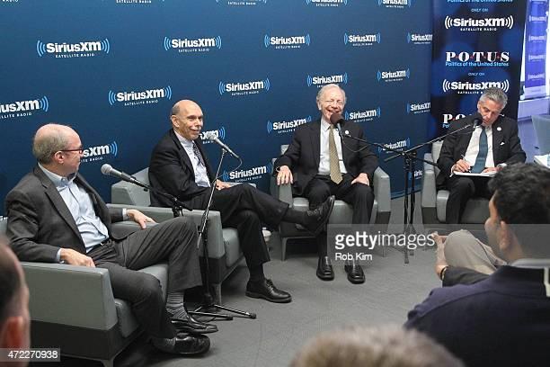 Alan Murray Editor of Fortune Magazine John Avlon EditorinChief of The Daily Beast Joe Lieberman and John Huntman attend a special edition of...