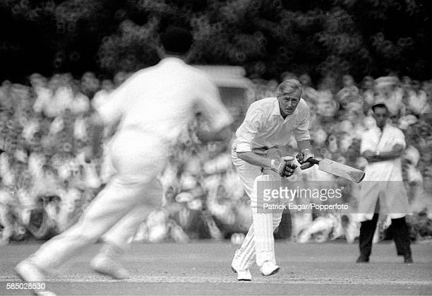 Alan Oakman batting for Sussex during the Gillette Cup match between Kent and Sussex at Canterbury 19th July 1967