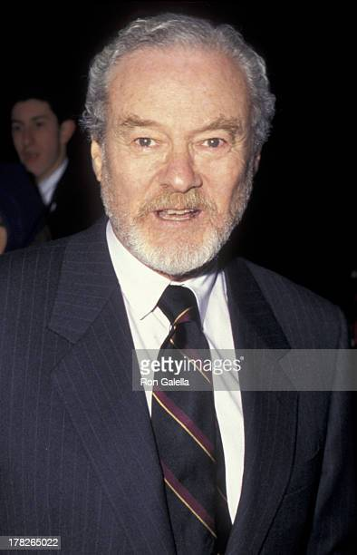 Alan Pakula attends the premiere of The Devil's Own on March 13 1997 at Cinema One in New York City