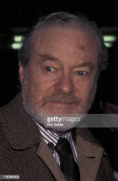 Alan Pakula attends the screening of The Boxer on January 7 1998 at the Coronet Theater in New York City
