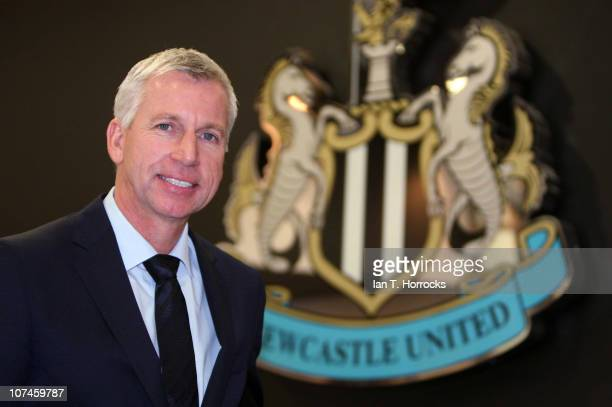 COVERAGE*** Alan Pardew attends a press conference to announce him as the new Newcastle United manager at St James' Park on December 09 in Newcastle...