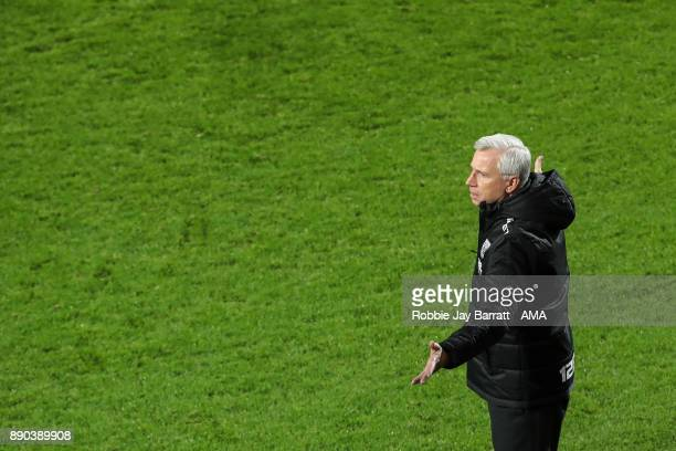 Alan Pardew manager / head coach of West Bromwich Albion during the Premier League match between West Bromwich Albion and Crystal Palace at The...