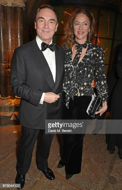 Alan Parker and Jane Hardman attend Save The Children's Magical Winter Gala celebrating the 20th anniversary since the publication of the first of JK...