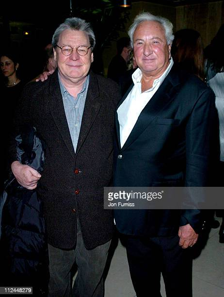 Alan Parker and Michael Winner during 2004 Directors Guild of Great Britain Awards in London Arrivals at Curzon Cinema in London Great Britain