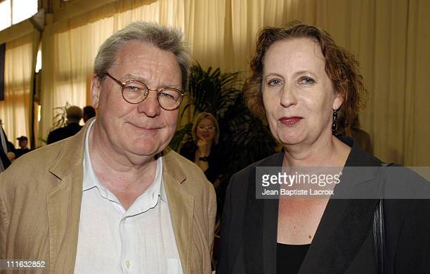 Alan Parker and Minister of Culture Christina Weiss