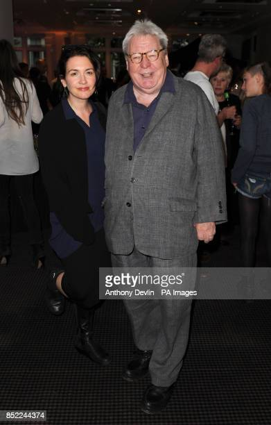 Alan Parker arriving at the Sunshine on Leith film VIP screening at BAFTA in Piccadilly in London