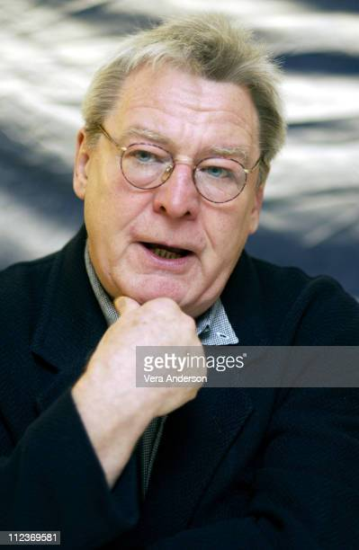 Alan Parker director/producer during The Life of David Gale Press Conference with Kevin Spacey Laura Linney and Alan Parker at Hotel St Regis Century...