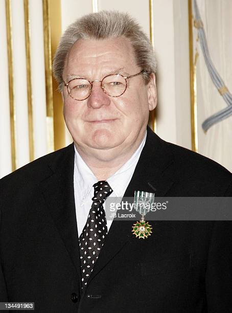 Alan Parker during Alan Parker Receives the Arts and Letters Award Paris at Ministere of Culture in Paris France