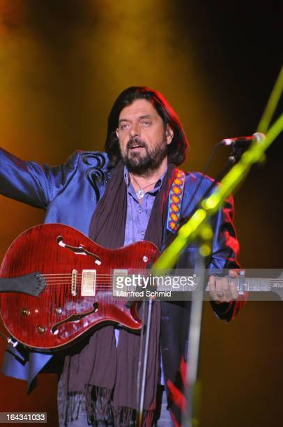 Alan Parsons of The Alan Parsons Live Project performs on stage during the Greatest Hits Tour 2013 at the Gasometer Wien Music Hall on March 22 2013...