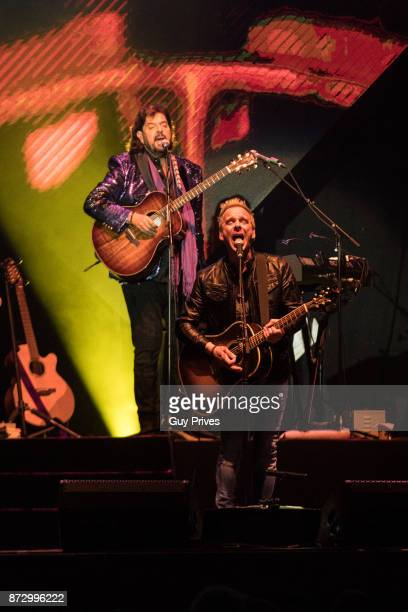Alan Parsons Project perform at Menora Mivtachim Arena on November 11 2017 in Tel Aviv Israel
