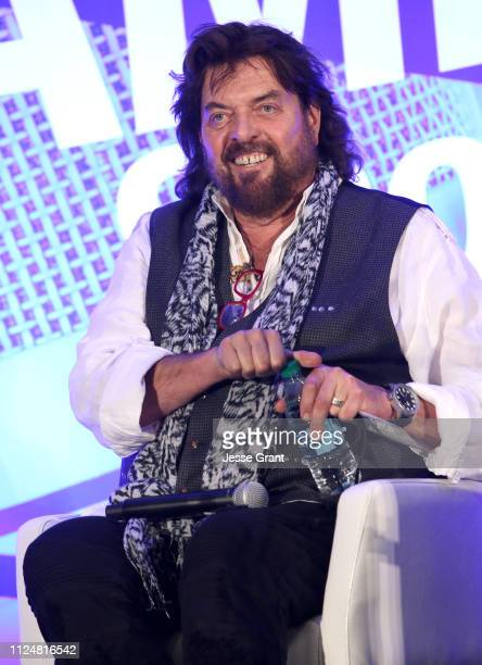 Alan Parsons speaks onstage at TEC Tracks during the 2019 NAMM Show at the Anaheim Convention Center on January 25 2019 in Anaheim California