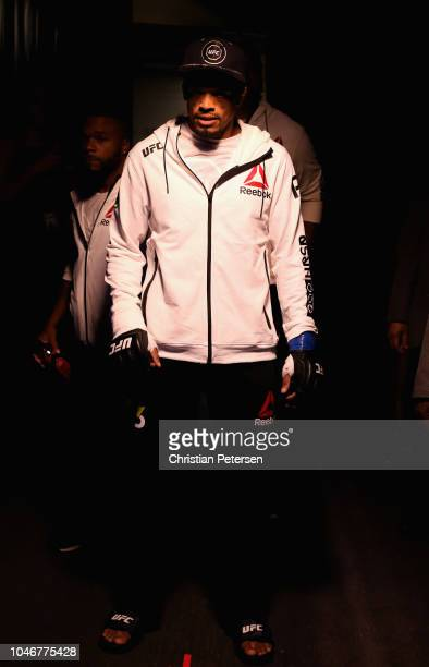 Alan Patrick of Brazil enters the arena before fighting Scott Holtzman in their lightweight bout during the UFC 229 event inside TMobile Arena on...