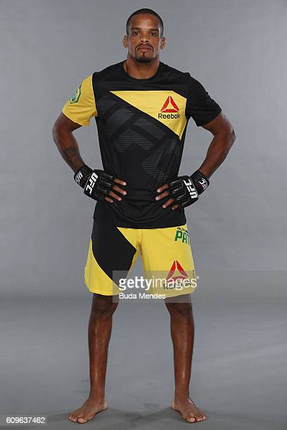 Alan Patrick of Brazil poses for a portrait during a UFC photo session on September 21 2016 in Brasilia Brazil