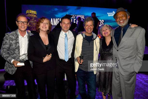 Alan Paul and Cheryl Bentyne of The Manhattan Transfer Director National Music Council David Sanders Musican Chick Corea Janis Siegel of The...