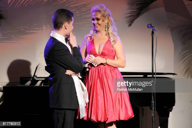 Alan Pepe and Cornelia Guest attend VIP MASKED BALL for Susan G Komen Headlined by Sir Richard Branson Katie Couric Cornelia Guest HM Queen Noor and...